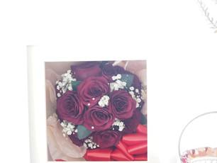 108本のバラより『SC white BOX』