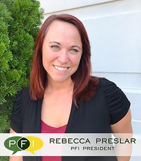 Rebecca Preslar - PFI President