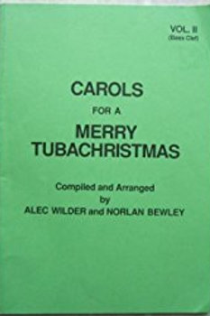 CAROLS FOR A MERRY TUBACHRISTMAS - Large print