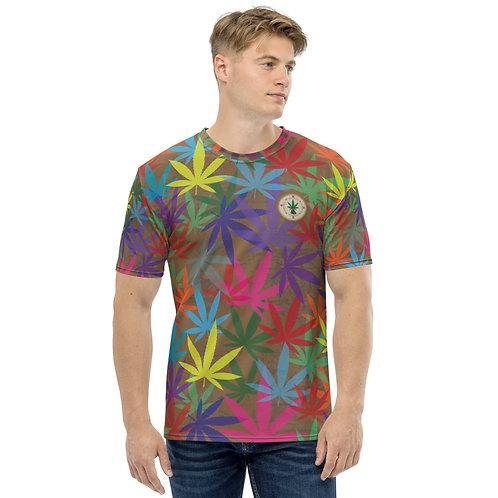 90 to Zambo Marijuana Print Men's T-shirt