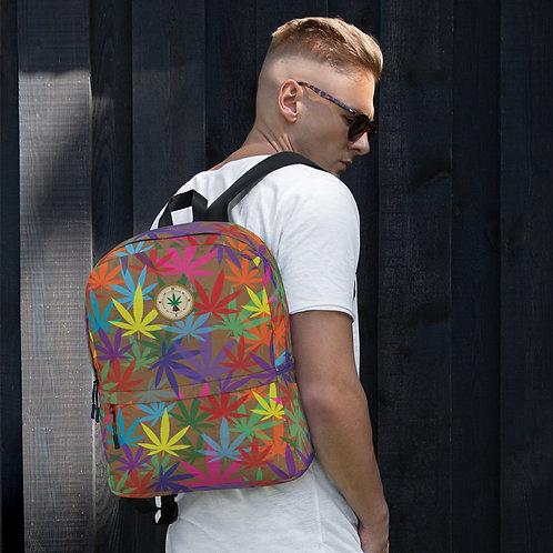 90 to Zambo Marijuana Print Backpack