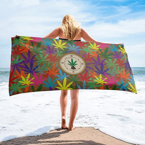 90 to Zambo Marijuana Print Towel