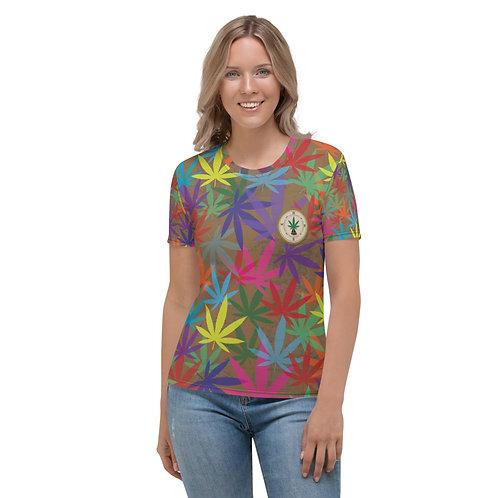 90 to Zambo Marijuana Print Women's T-shirt