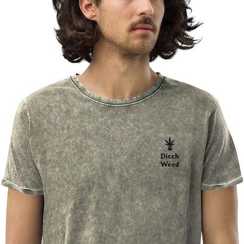 Ditch Weed Denim T-Shirt