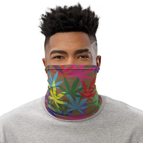 90 to Zambo Marijuana Print Neck Gaiter