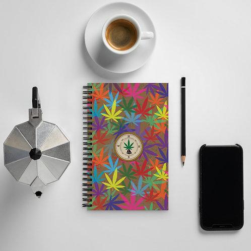 90 to Zambo Marijuana Print Notebook