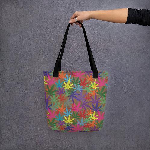 90 to Zambo Marijuana Print Tote bag