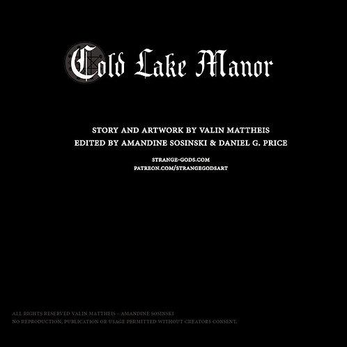 Illustrated digital story - Cold lake Manor