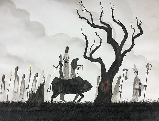the great procession II