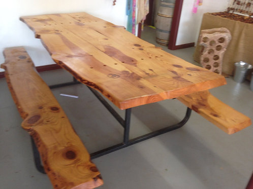 Chunky Timber Tables