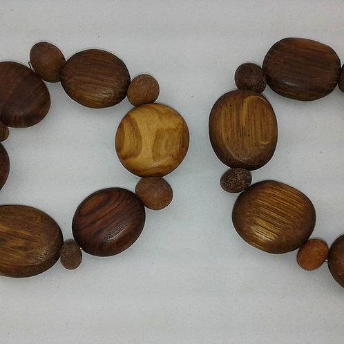 Flat Bead Bracelet