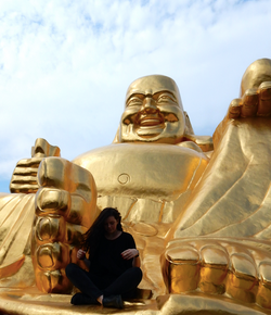 Golden Buddha, Suzhou Shantangfen