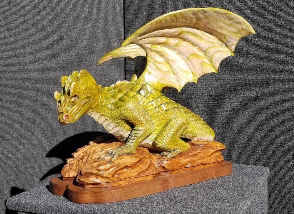 Warren Soper Woodcarving