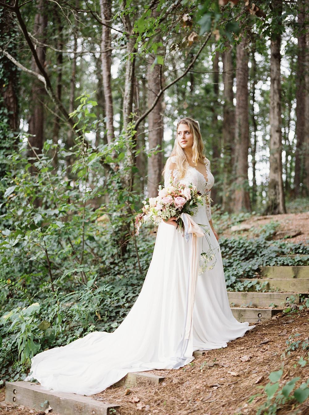 bride woodland setting, birmingham al