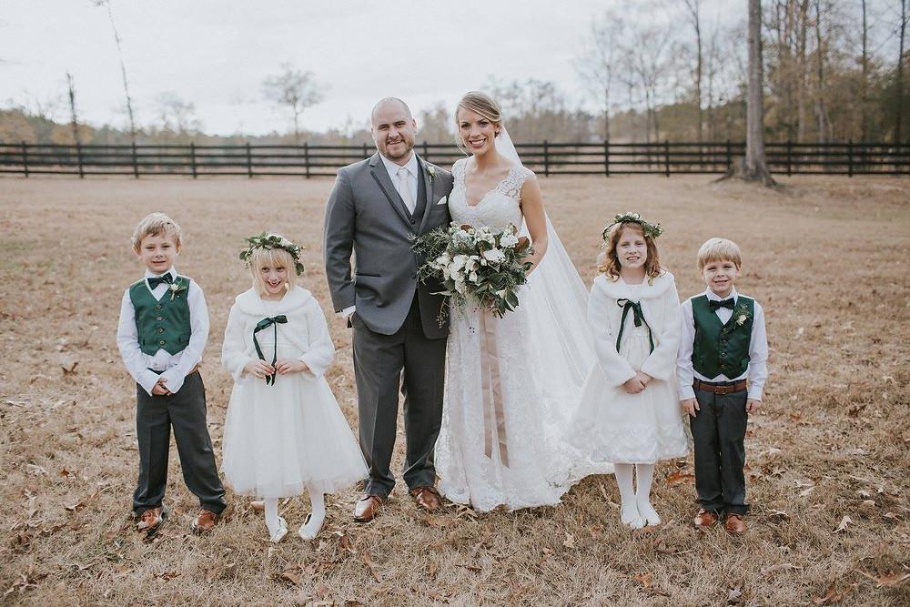 flower girls bride groom wedding planner