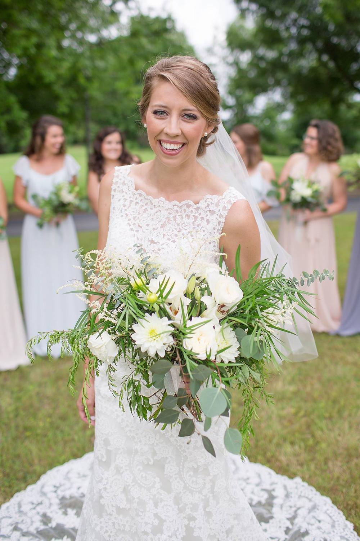 auburn, al wedding flowers, coordination bride