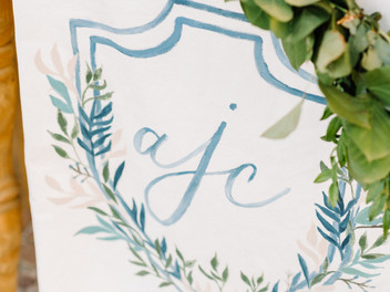 Beautiful Blue Wedding , Parker Hill Auburn  with Hannah Miller Photography