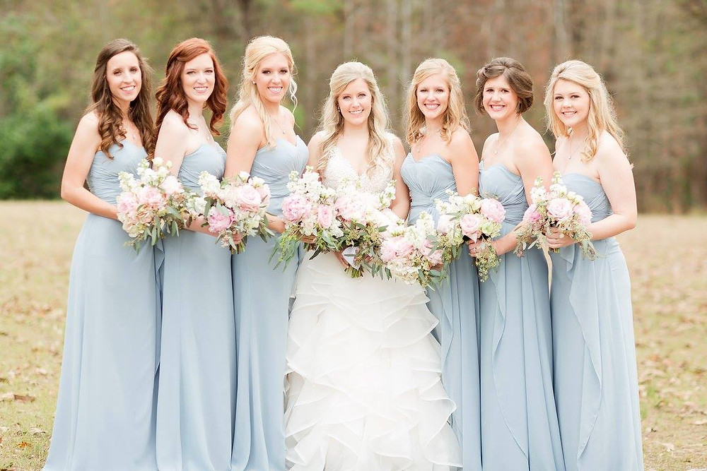 wedding flowers bridal party planner