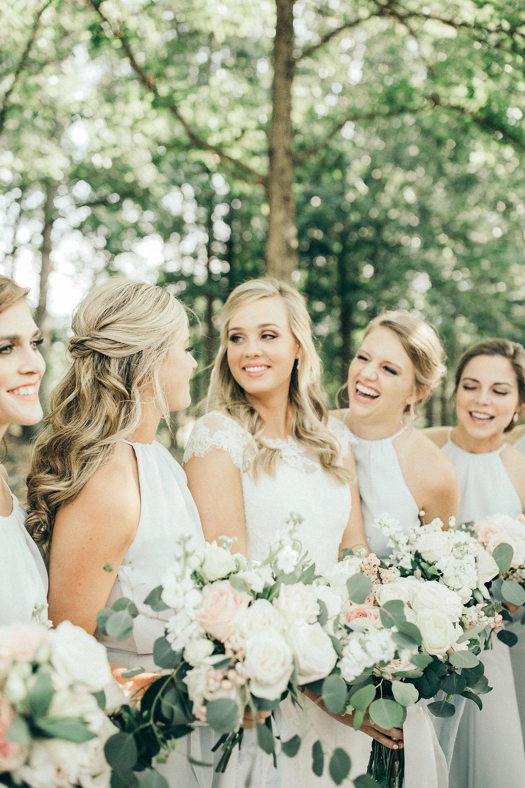 Auburn Al bride and bridesmaids