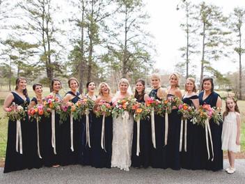 Beribboned Bouquets for Alabama Brides