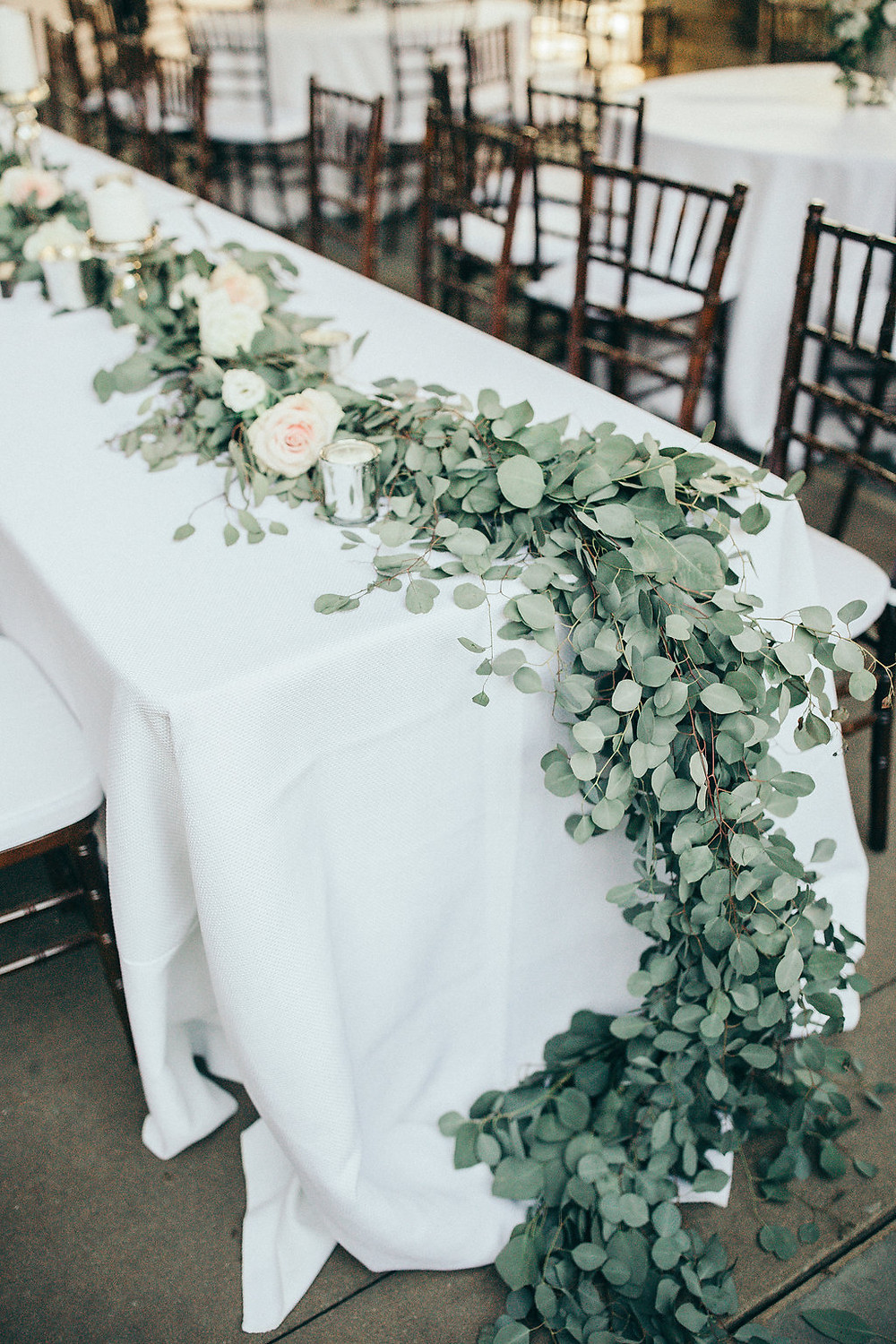 Auburn wedding venue planning garland