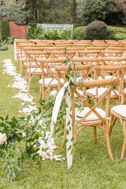 garden wedding ceremony montgomery
