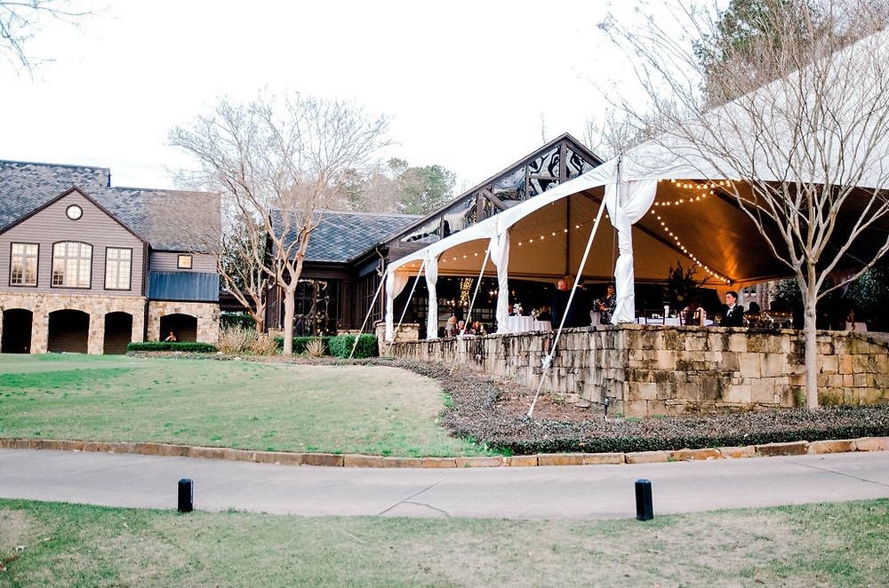 Auburn Al wedding venue tent