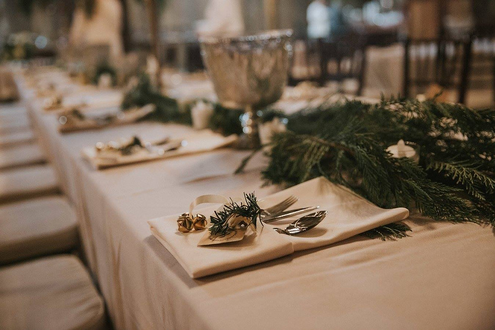 wedding coordinator styling table