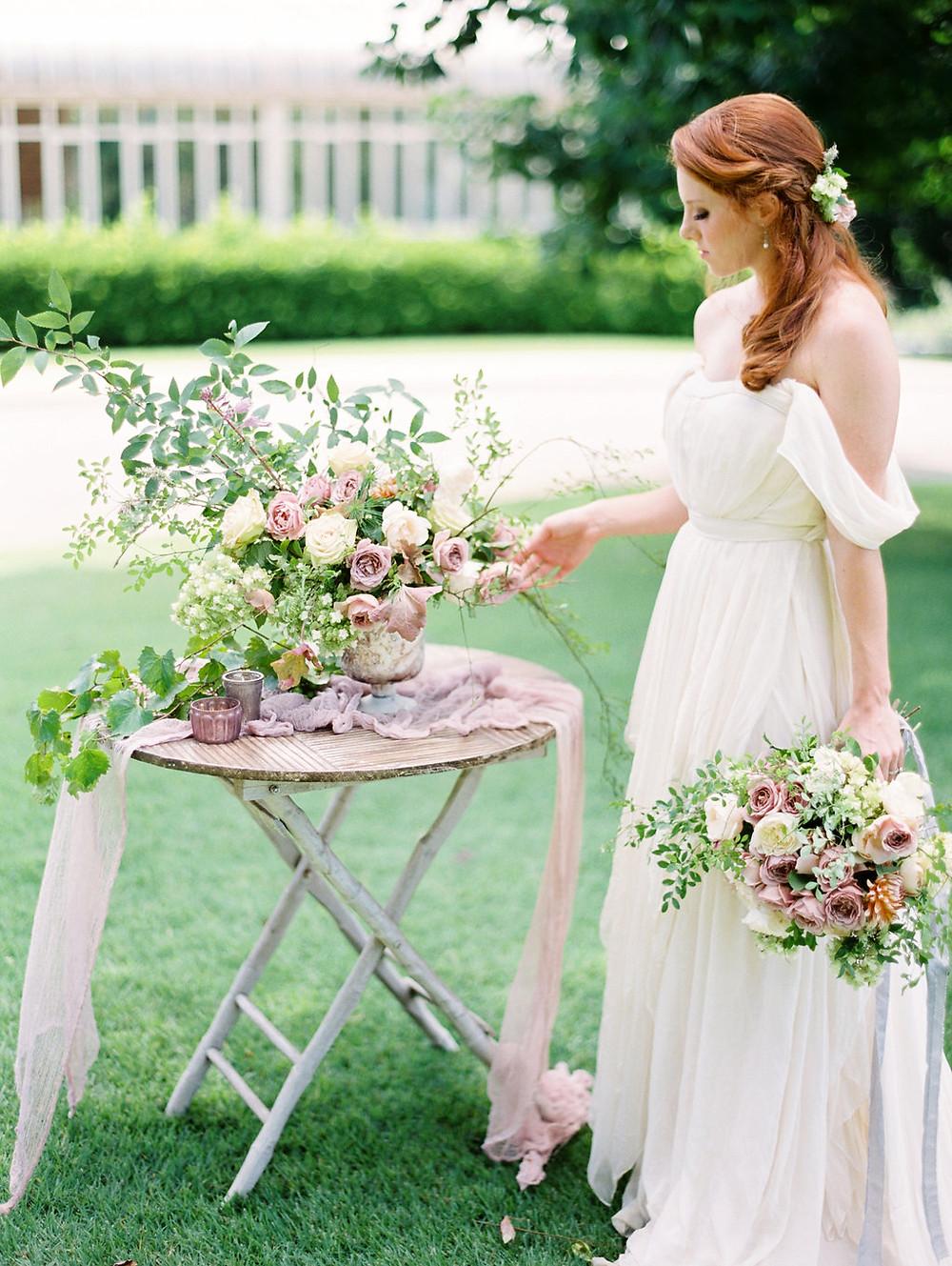 wedding flowers, bride birmingham al