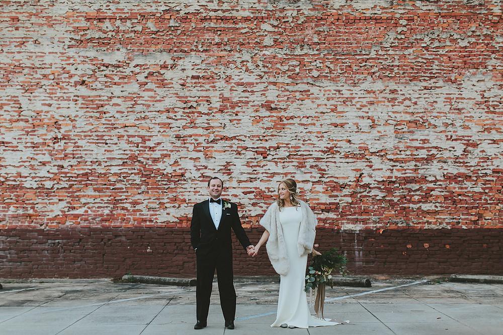 alabama wedding florist bride and groom