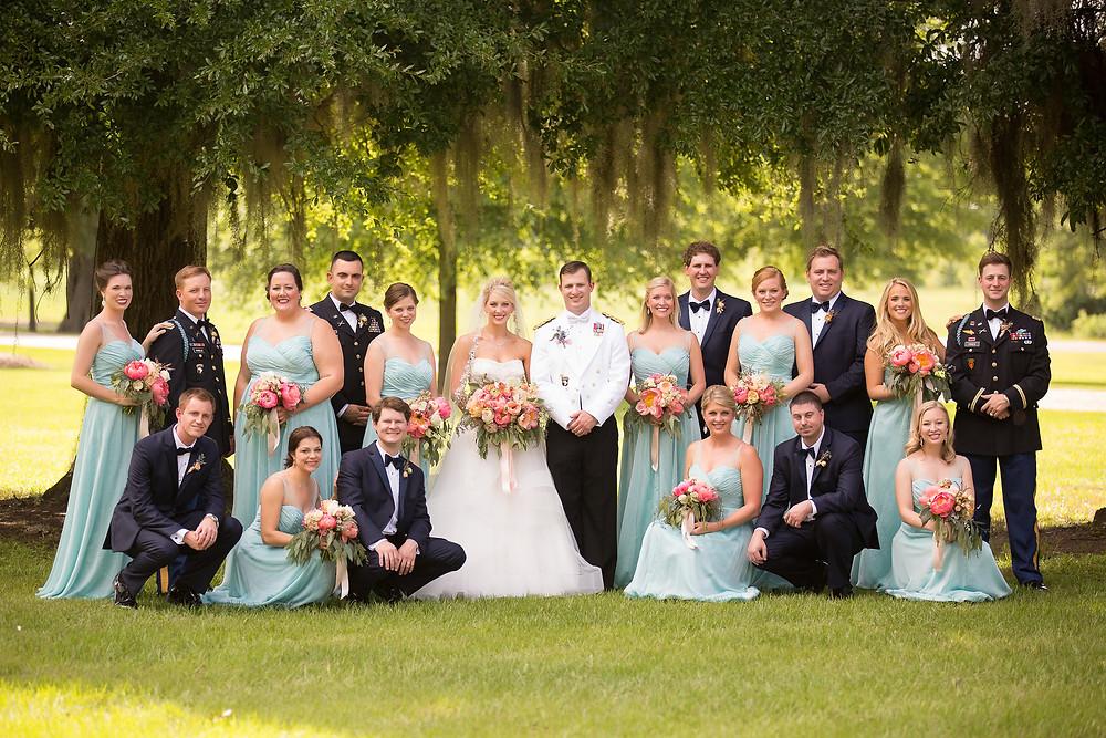 auburn planner wedding party oaks