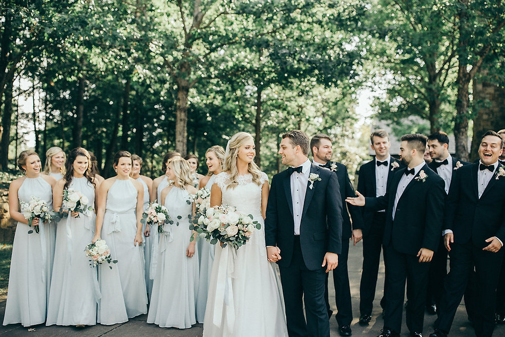 auburn al wedding venue bridal party