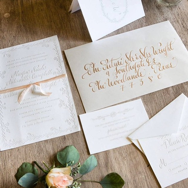 wedding planner invitation