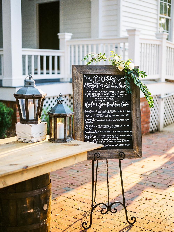 wedding bar flowers planning styling