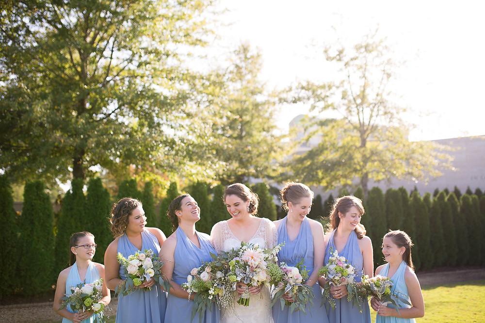 al wedding planner bride maids