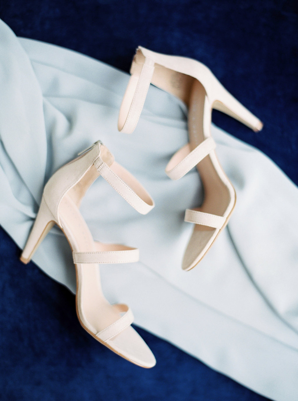 wedding planner bride shoes