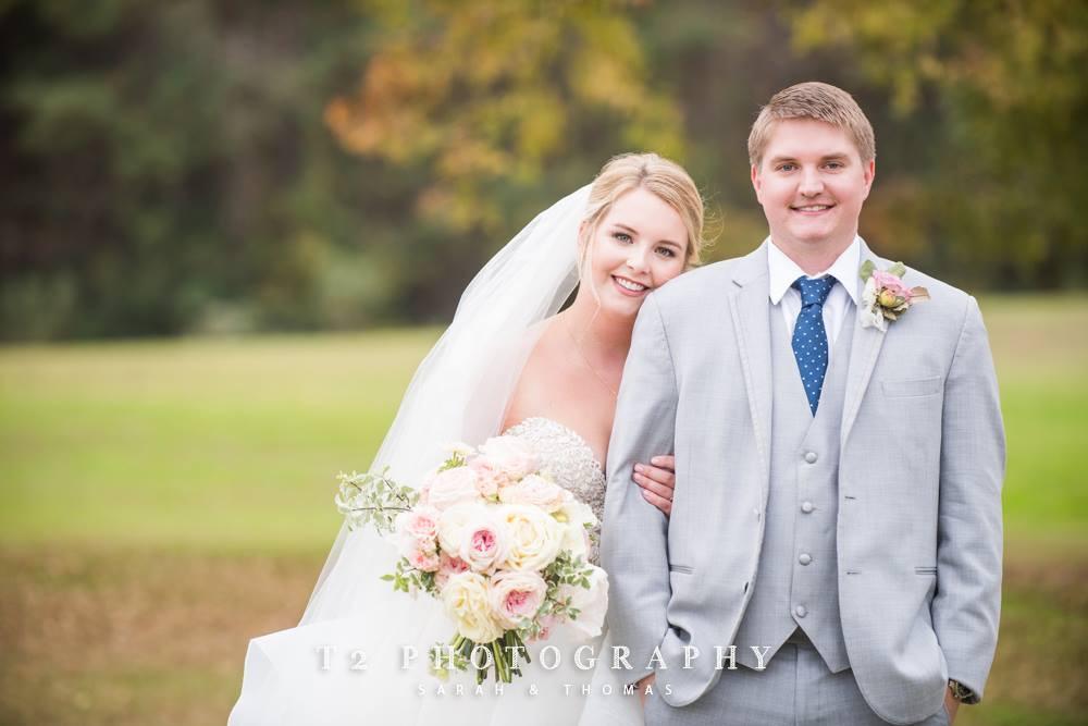 auburn al bride groom flowers
