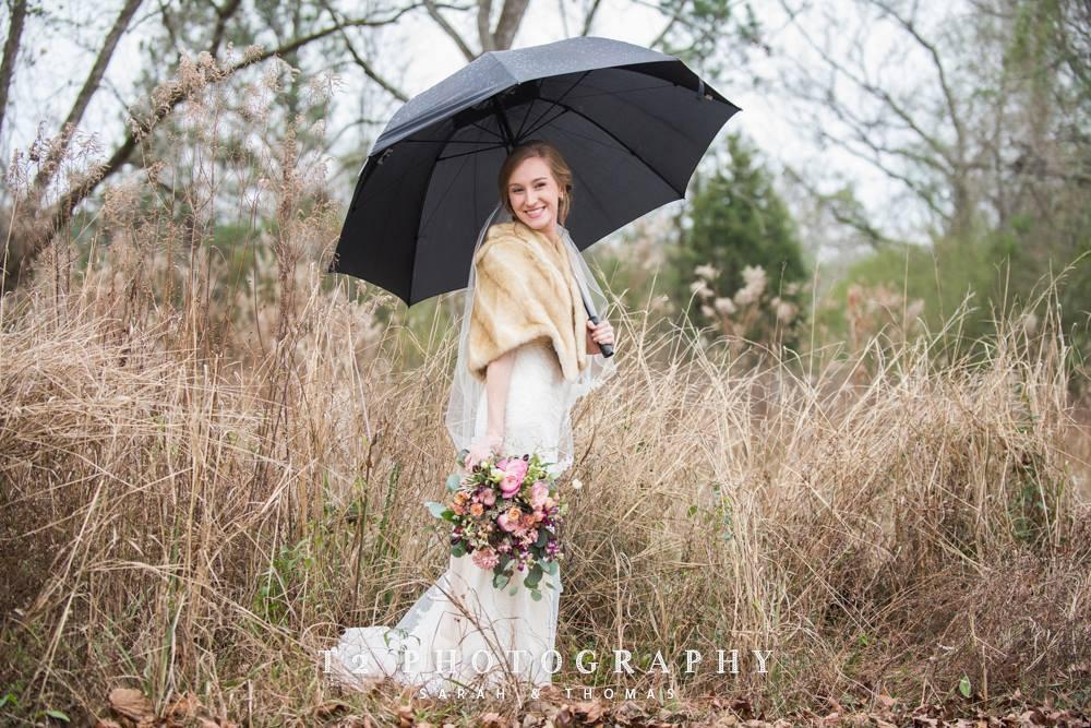 bride flowers auburn planner