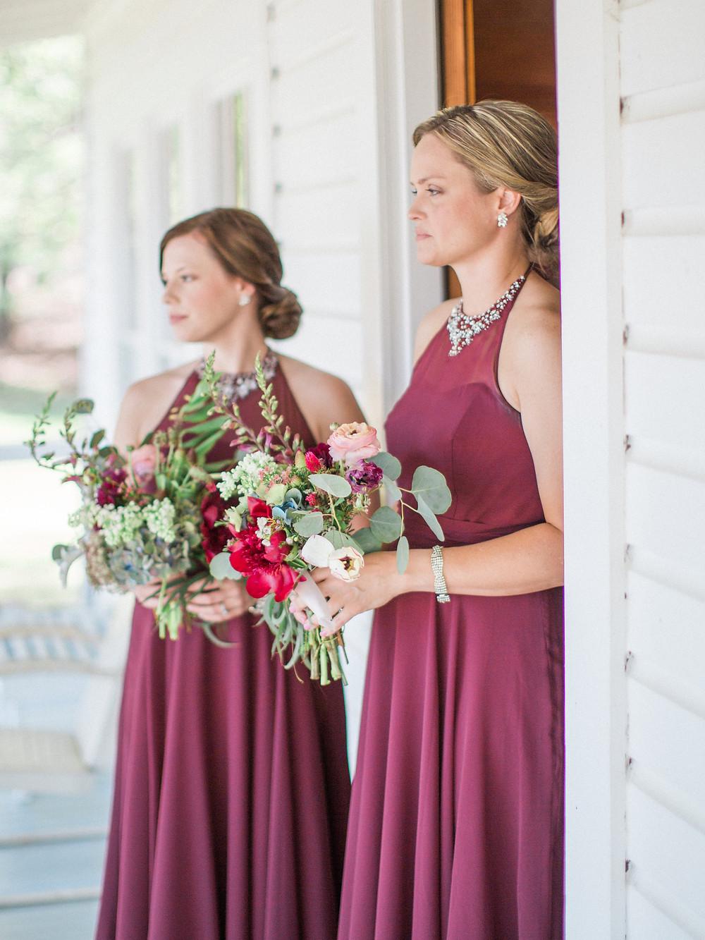 lake martin brides maids bouquets