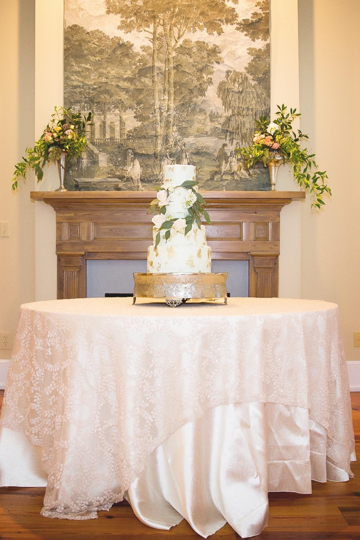 wedding cake flowers planner