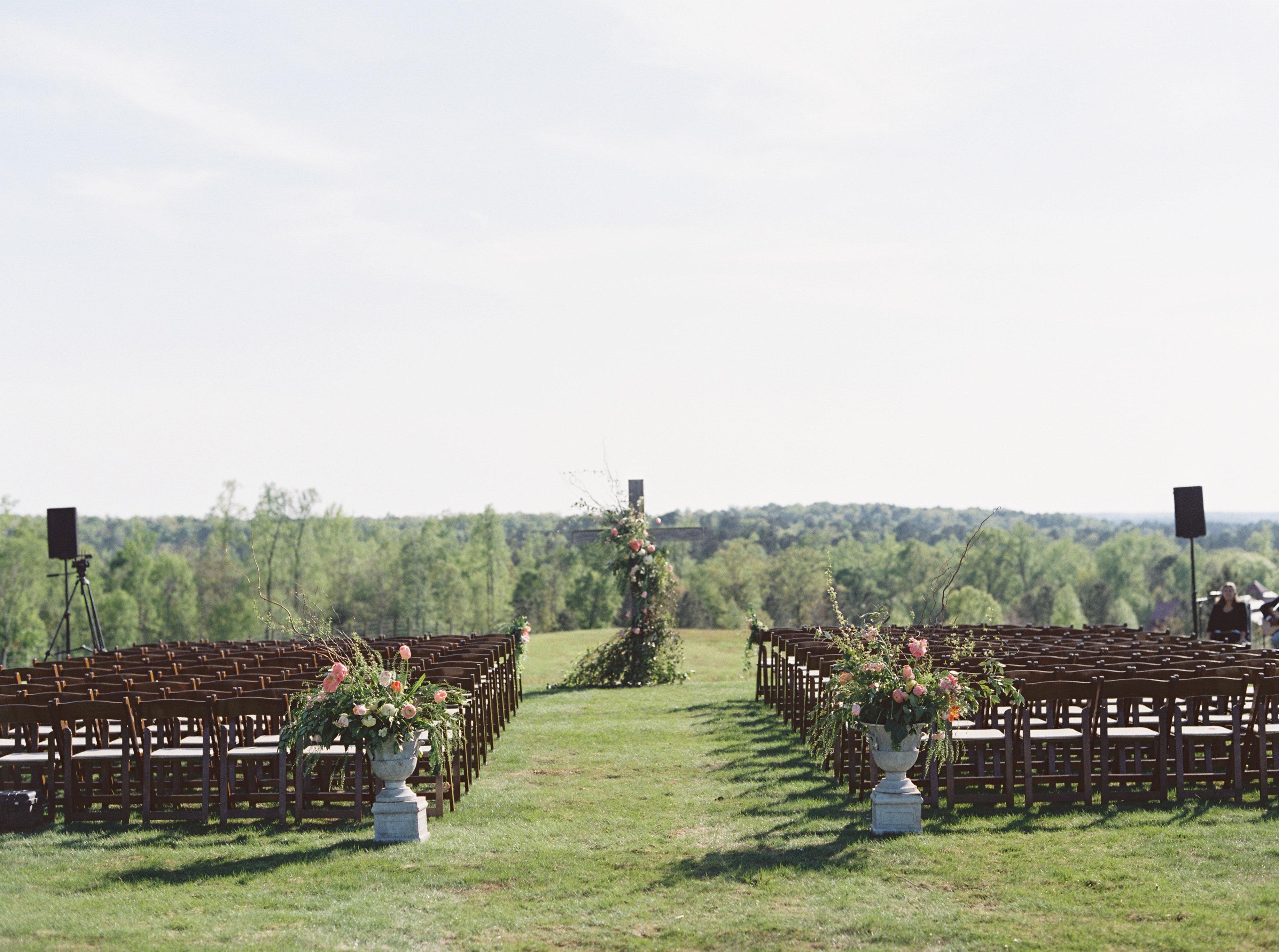 wedding ceremony florist planner al