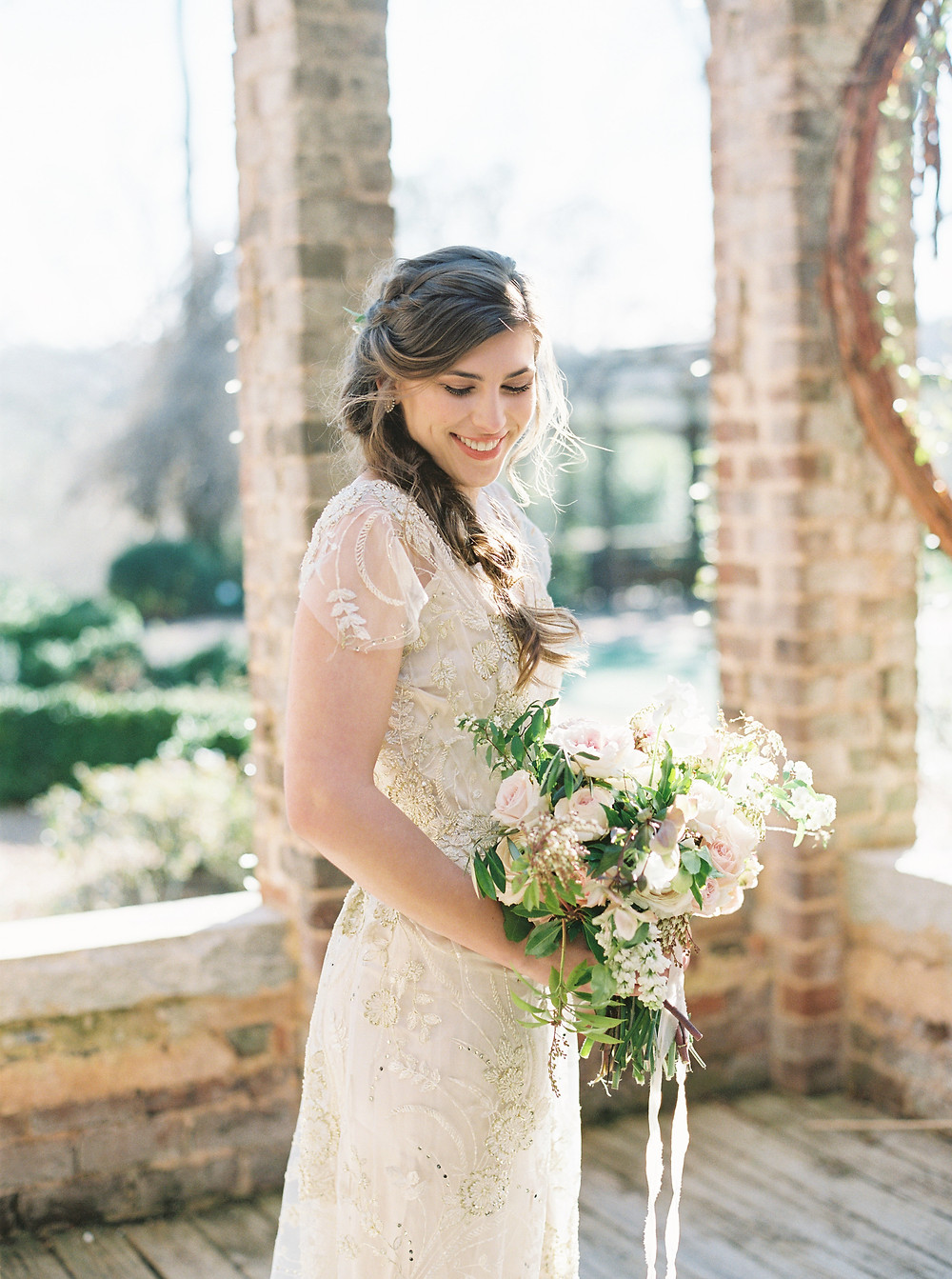 bride bouquet ga wedding planning