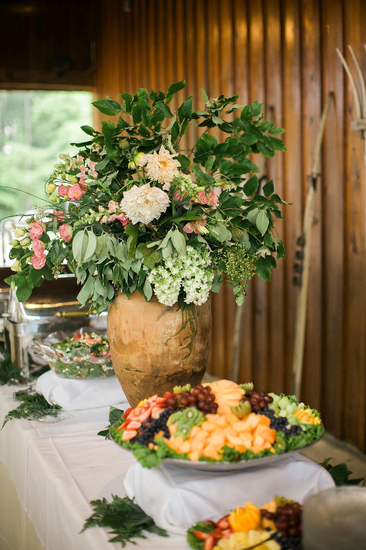ga wedding buffet flowers coordinator