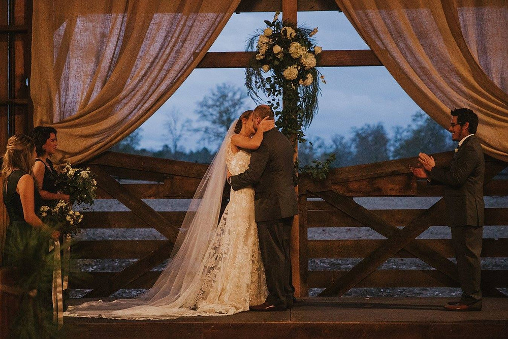 wedding kiss auburn coordinator