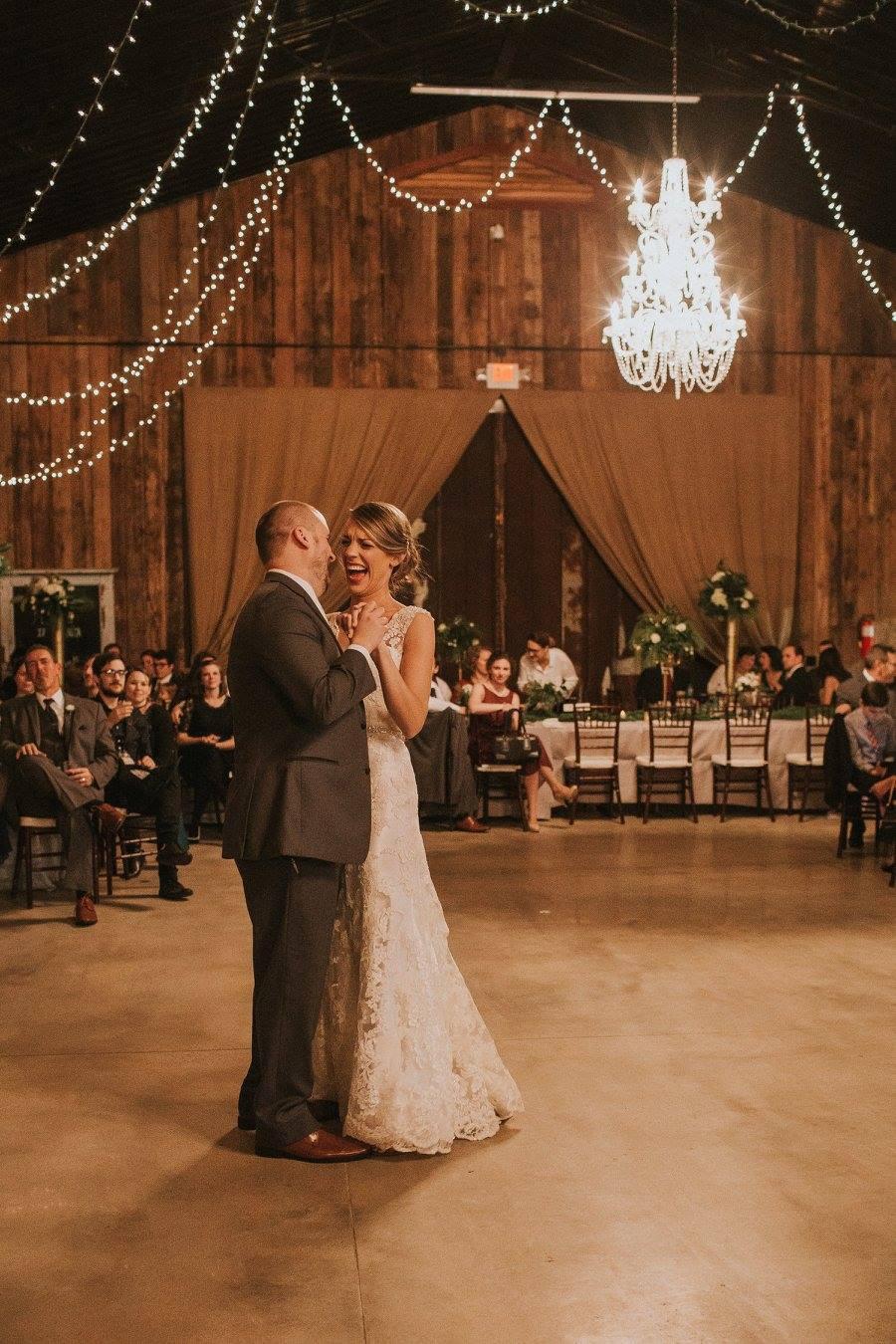 bride groom dance wedding flowers planner