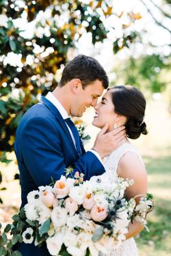bride and groom auburn alabama