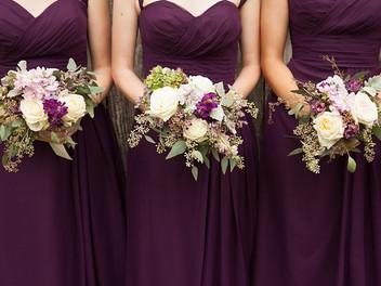 Anna and Chris-beautiful burgundy and green Alabama Wedding