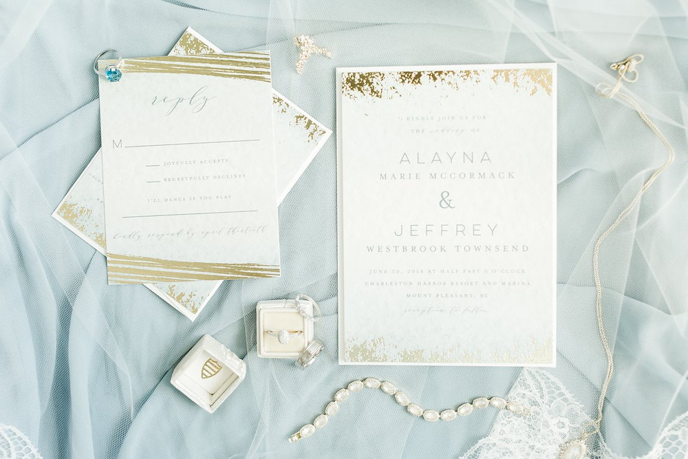 destination wedding invitation charleston sc venue