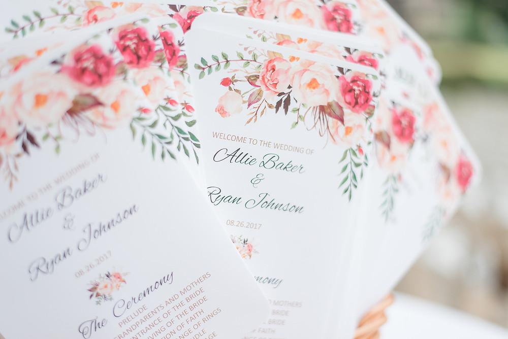 auburn wedding planning program design