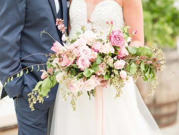 Springtime Pink Wedding Inspiration in Auburn Alabama